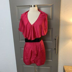 Ted Baker Satin Pink Belted Top XL/5